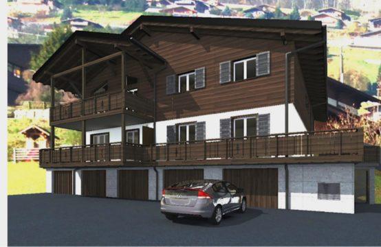 Duplex idéalement situé dans un endroit calme, proche de Monthey
