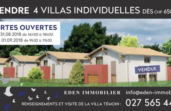 Charmante maison individuelle C, idéale pour familles à Dorénaz (Valais)