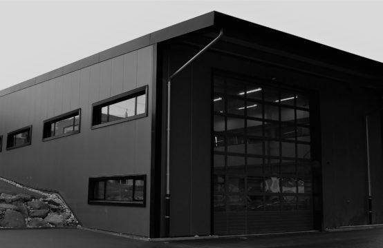 Nouvelle halle industrielle à Fully idéale pour votre entreprise sur-mesure
