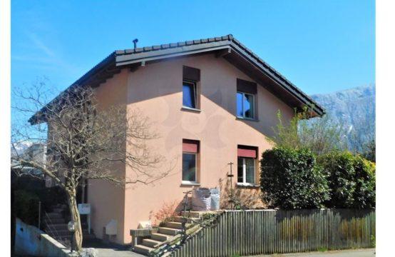 EDEN Immobilier | Canal de Fully | Villa de 6.5 pièces | Sous-sol | Jardin arboré