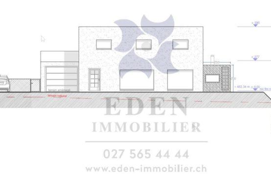 EDEN Immobilier | Villa Neuve contemporaine | Clef en main | Coteaux du Valais