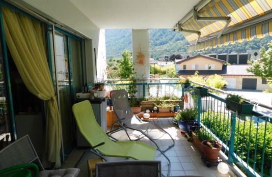 EDEN Immobilier | Exclusivité | Appartement 4,5 pièces au bord de la Dranse | Balcon