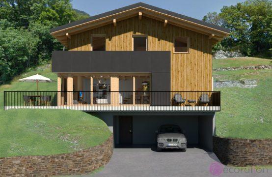 Nouveau projet de 2 Chalets sis sur le Mont à Ravoire en EXCLUSIVITE